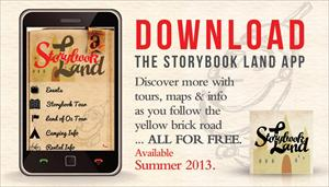 Storybook Land App on Apple or Google Play