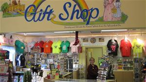 Gift Shop in Visitor's Center