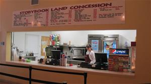 Visitor Center Concession Stand