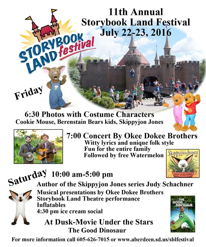 2016 Storybook Land Festival Information