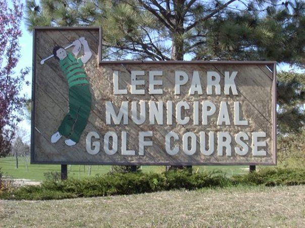 Lee Park Golf Course Sign