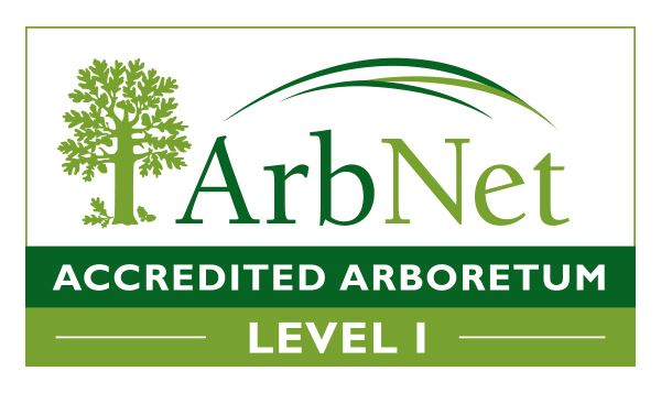 ArbNet.org Accredited Arboretum Level 1 includes link to website
